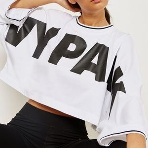 Ivy Park Oversized Crop Top- NWT - XSMALL